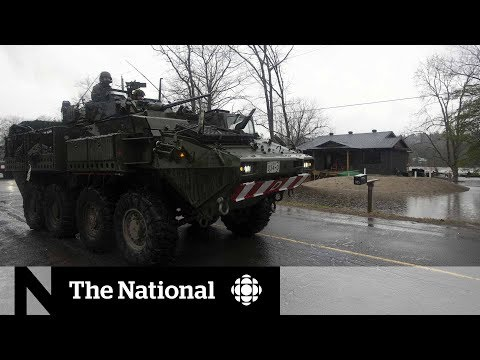 Canadian Military Joins Flood Relief Efforts In Ontario