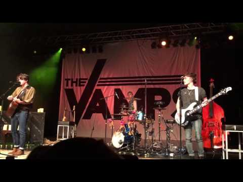 The Vamps - It's A Lie LIVE NEW SONG