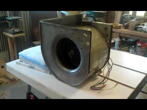 Homemade Shop Air Filtration System Part 1 Youtube
