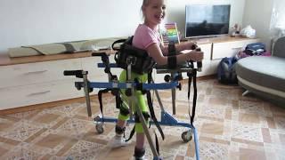видео Ходунки для детей на колесах Rebotec Walk-on