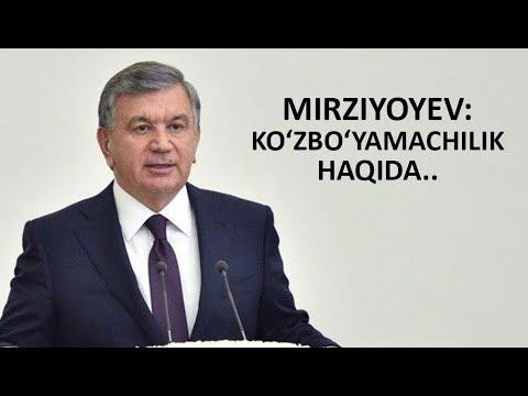 """SHAVKAT MIRZIYOYEV: """"ENDI JAZO JUDA QATTIQ BO'LADI"""""""