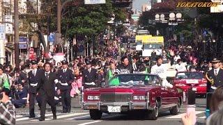 福岡ソフトバンクホークスのリーグ優勝を祝う優勝祝賀パレードが 2010年...