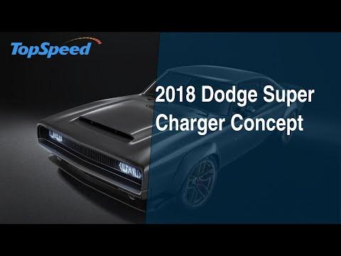 2018 dodge super charger concept