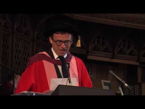 David Nicholls awarded honorary degree