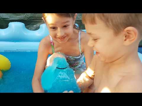 Thumbnail: Kids playing with Gelli Baff, Slime baff and Gelli Snow. Video Compilation .