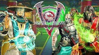 Mortal Kombat - Deadly Alliance (Русская озвучка): Все видео сцены [1080p]