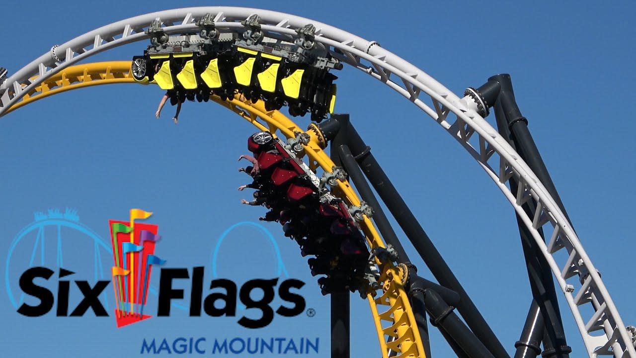 Magic Mountain Halloween 2020 Six Flags Magic Mountain 2020 Tour & Review with The Legend   YouTube