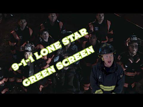 Green screening myself into 9-1-1 Lone Star