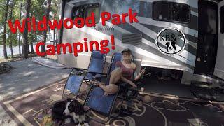 Camping at Wildwood Park, Georgia