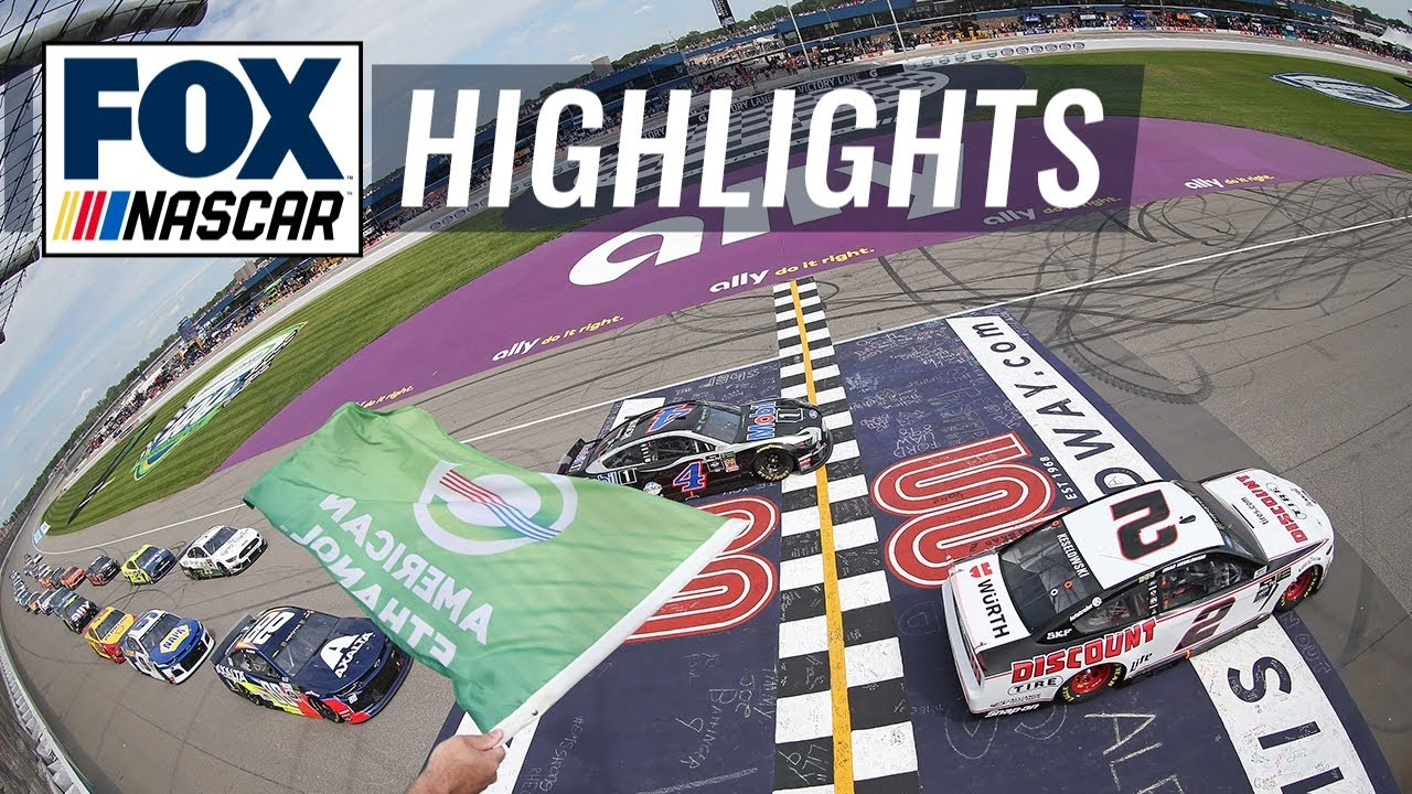 NASCAR at Michigan: Results, highlights from Sunday's Consumers ...