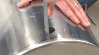 Learn To Brew: Installing a Weldless Thermometer in a Kettle