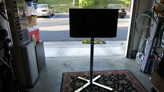 "Fleximounts C02 32"" - 60"" Mobile TV Cart - Review"