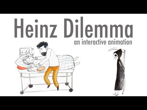 Heinz Dilemma - Kohlberg's stages of Moral Development (Interactive Animation)