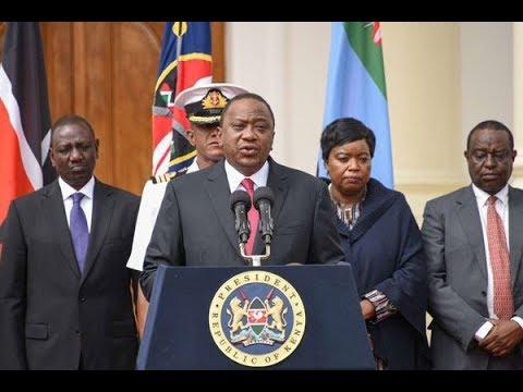 President Uhuru Kenyatta attends the multi-sectoral anti-corruption conference at the Bomas of Kenya