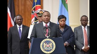 President Uhuru Kenyatta attends the multi-sectoral anti-corruption conference at the Bomas of Kenya