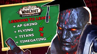 The Lessons Shadowlands MUST Learn From BfA: World of Warcraft