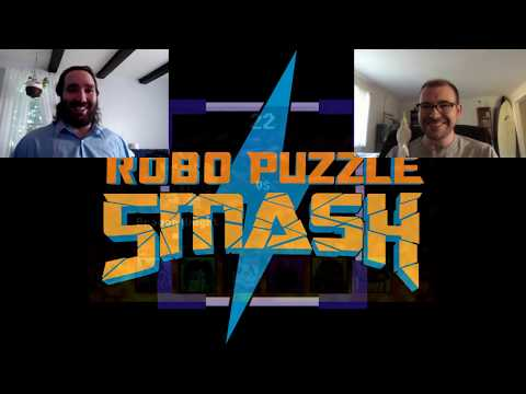 Puzzle Smashing and License Tie-in Games with Benjamin Cole: Robo Puzzle Smash Interview