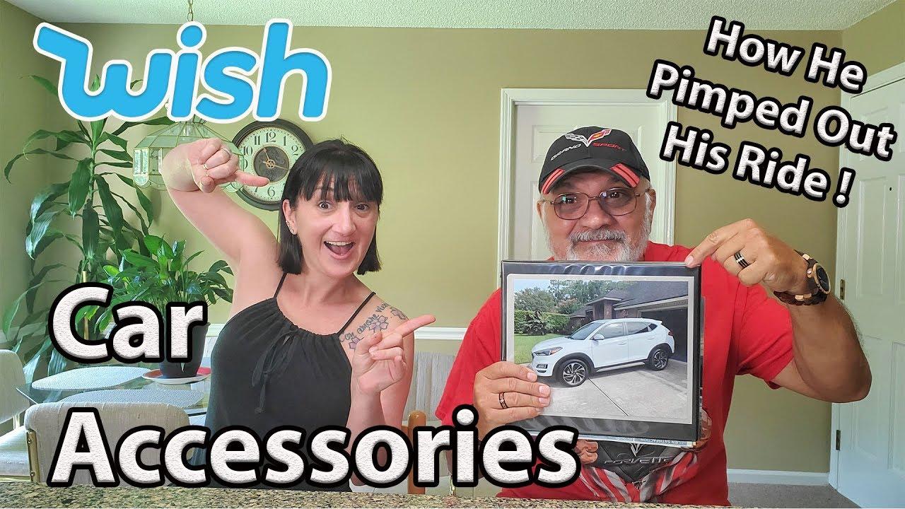 My Dad's WISH Car Accessories Haul - YouTube
