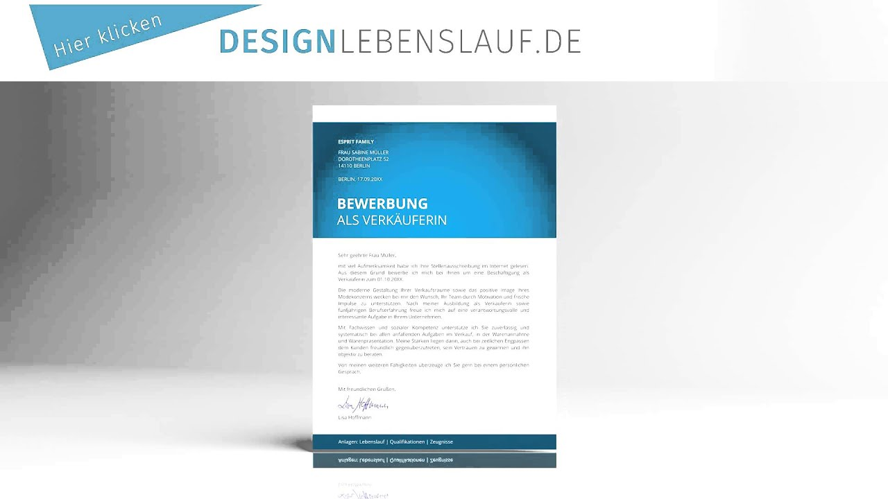 einleitungssatz bewerbung design bewerbungsvorlagen fix und fertig - Einleitungssatze Bewerbung