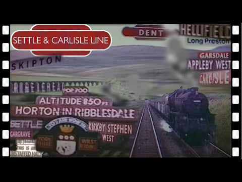 The SETTLE & CARLISLE line   from a DMU CAB in 1967