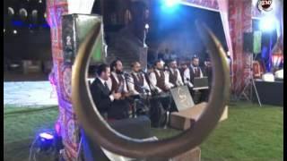 صالون المحور | اغنية رمضان جانا مع اجمل الاصوات لفرقة (ابو شعر)