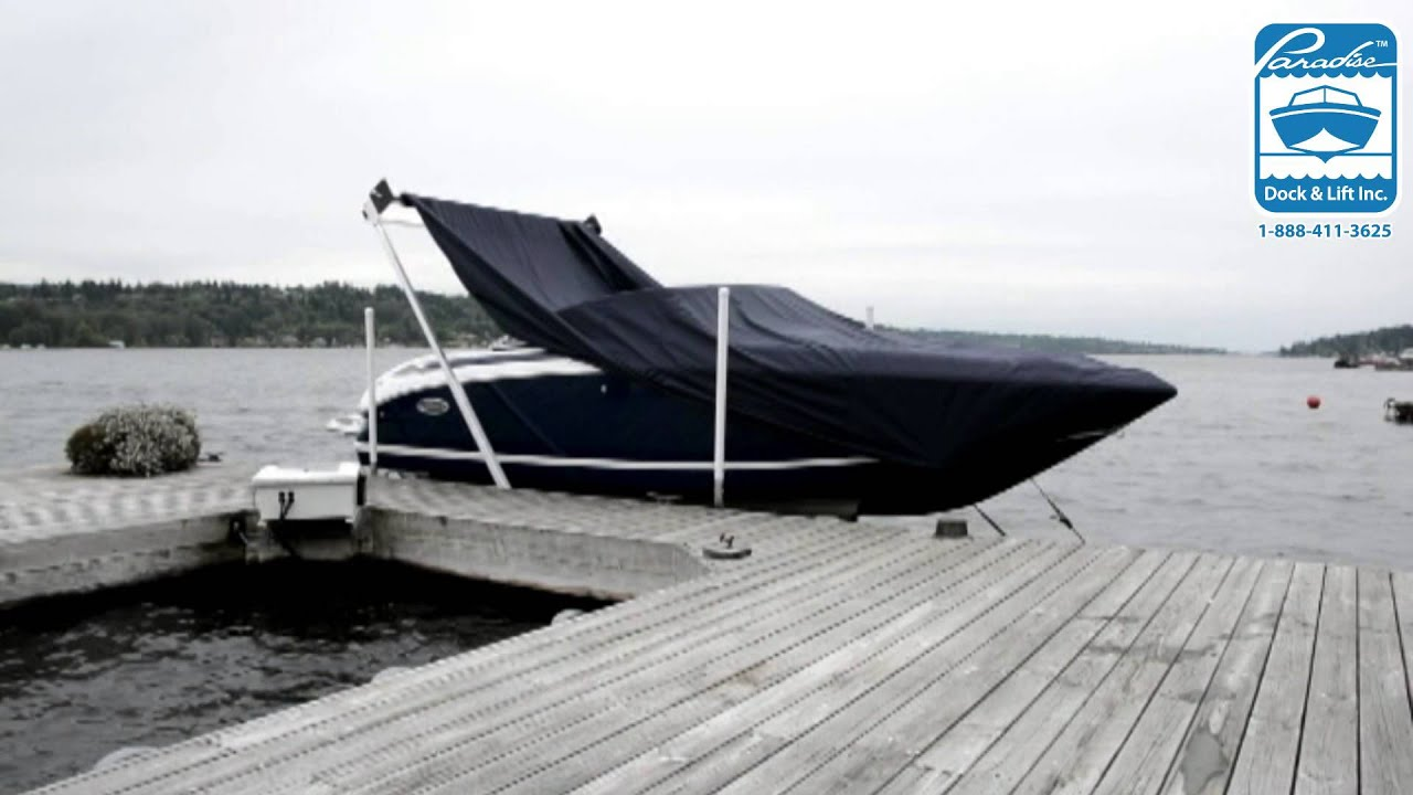 Automatic Boat Cover | Paradise Dock & Lift Inc