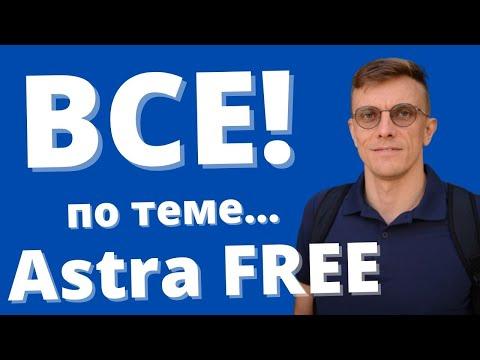Как создать сайт на ASTRA? Лучшая бесплатная тема Wordpress.