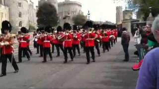 Welsh Guards dazzle crowd.