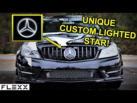 The Best Unique Mercedes Lighted Led Star Ever