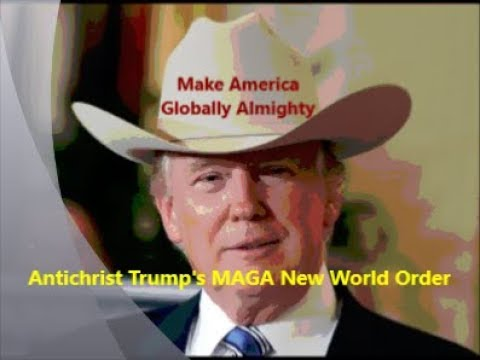Antichrist Trump's MAGA New World Order -vs- Jesus Christ's New Wine