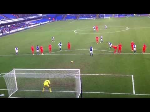 David McGoldrick penalty vs Bolton 1/2/14