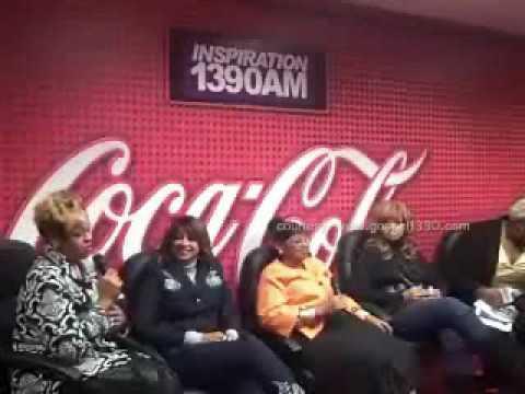 Clark Sisters @ Coca Cola Lounge Part 1 - Interview