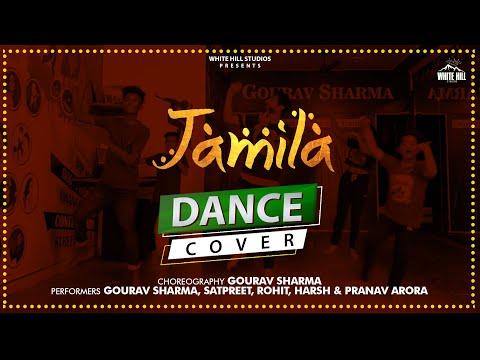 Jamila Bhangra Dance   Maninder Buttar    D4U Dance Academy   DJ Bhangra Dance Songs