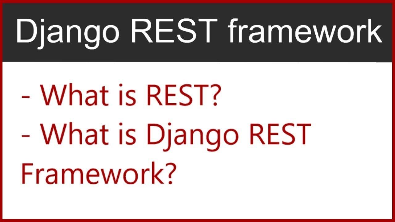 1 | What is REST, What is Django Rest Framework | by Hardik Patel