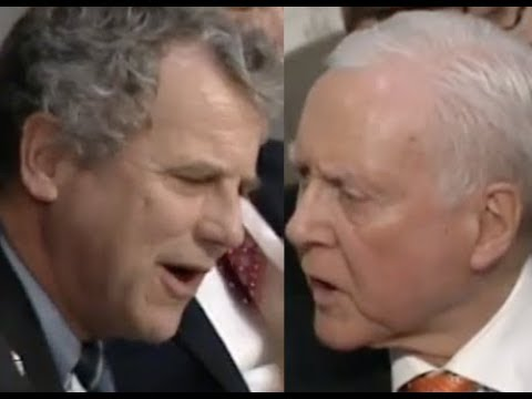 "SHOUTING MATCH IN THE SENATE: Sherrod Brown vs. Orrin Hatch - ""THIS IS BULLCRAP!!!"""