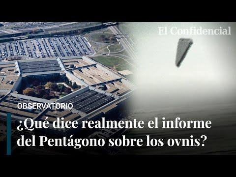 ¿Qué dice exactamente el informe del Pentágono sobre los OVNIS?