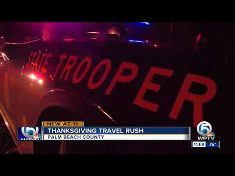 Thumbnail: Thanksgiving travel rush