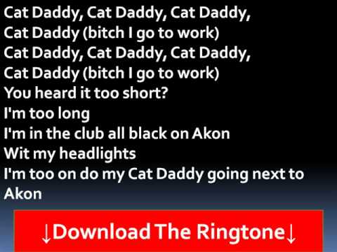 The Rej3ctz - Cat Daddy Lyrics