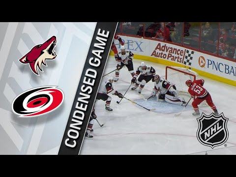 03/22/18 Condensed Game: Coyotes @ Hurricanes