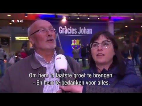 Barcelona herdenkt Johan Cruijff