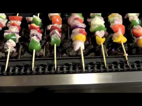 Bamboo Skewer Grill Shish Kabob Grill Wooden Skewer