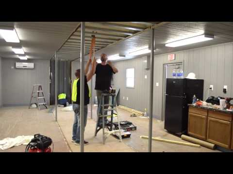 Build A Box Homes 20x40 Assembly Extended Time Lapse Doovi