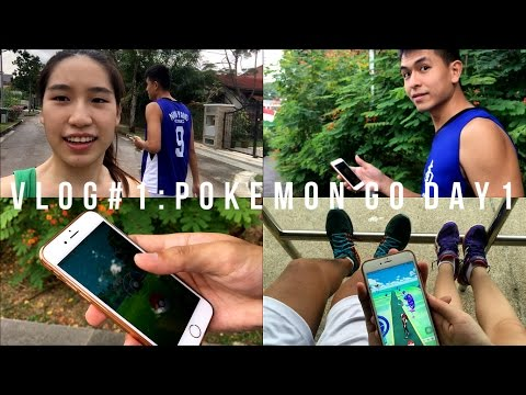 VLOG #1 || Pokémon Go in Singapore DAY 1 Ft. Non Gamer Perspective