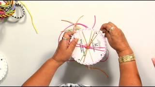 The Joy of Crafting 197/1 - Kumihimo  12-Strand Spiral Braid