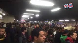 أخبار اليوم   اشتباكات داخل مترو الأنفاق بسبب الزحام الشديد