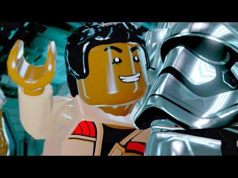 LEGO Star Wars The Force Awakens Part 9 Walkthrough Captain Phasma Boss Fight - Starkiller Sabotage