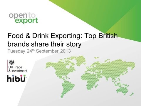 Food & Drink | Top British export brands share their story