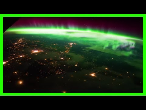 Breaking News | Watch: breathtaking video of aurora borealis from international space station