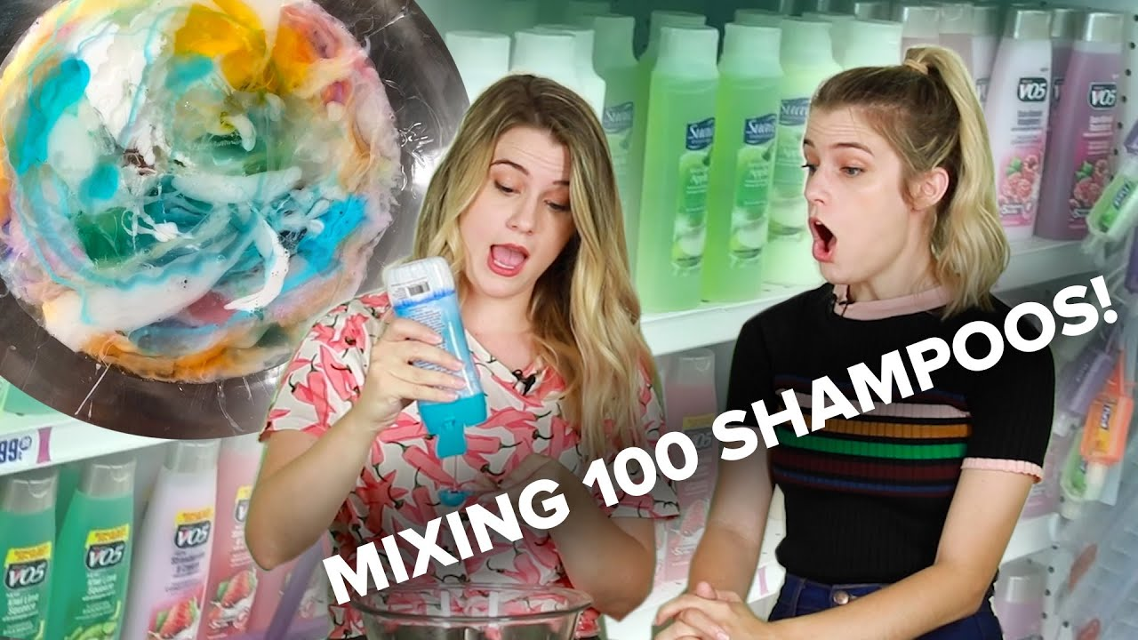 Mixing 100 Shampoos To Get The Perfect Shampoo