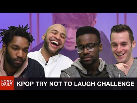 KPOP Try Not To Laugh Challenge • Fomo Daily Reacts